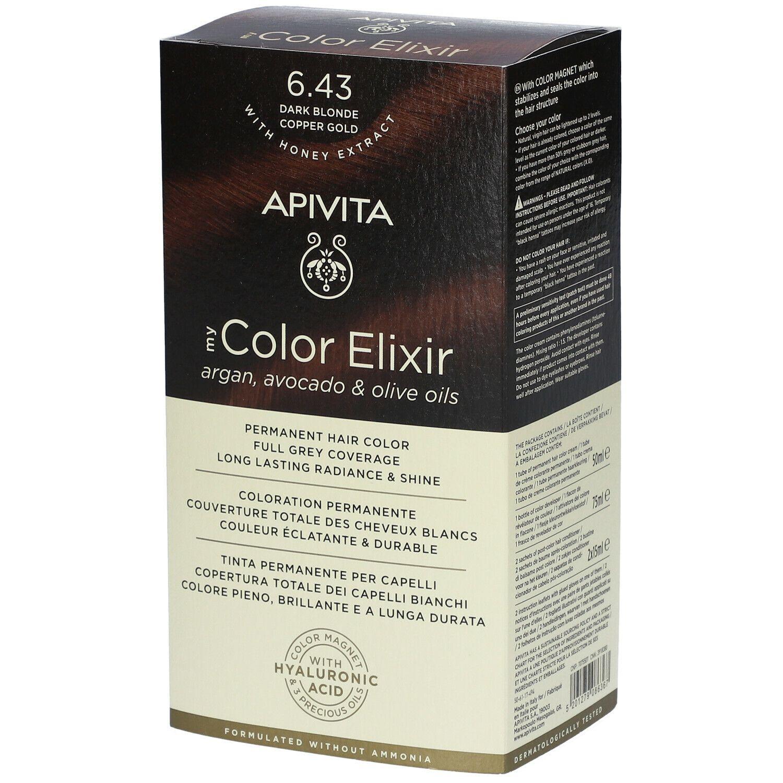 APIVITA My Color Elixir 6.43 Blond foncé Copper Gold ml élixir