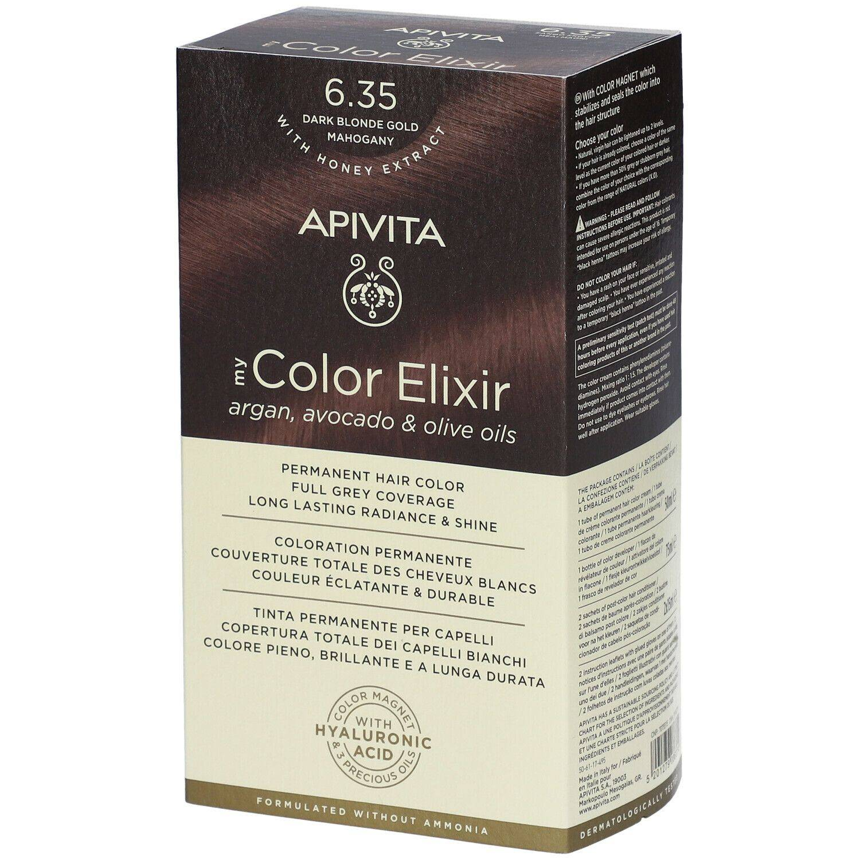 APIVITA My Color Elixir 6.35 Blond foncé Gold Mahogany ml élixir