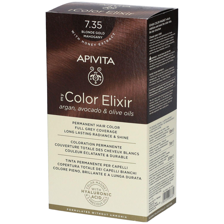 APIVITA My Color Elixir 7.35 Blond Gold Mahogany pc(s) élixir