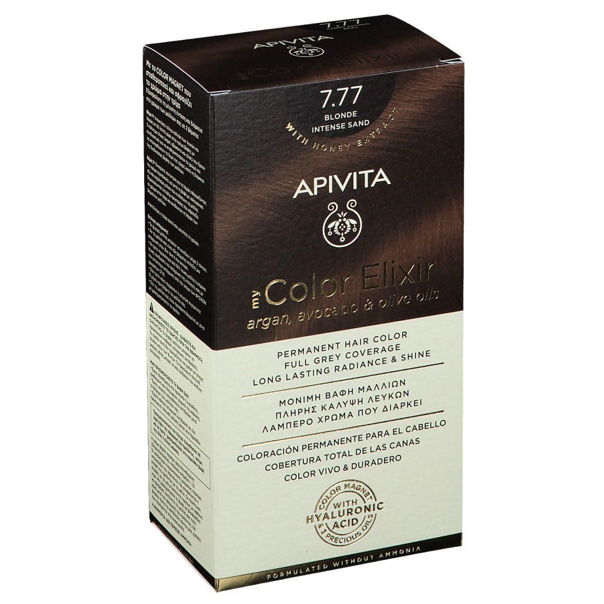 APIVITA My Color Elixir 7.77 Blond Intense Sand ml élixir