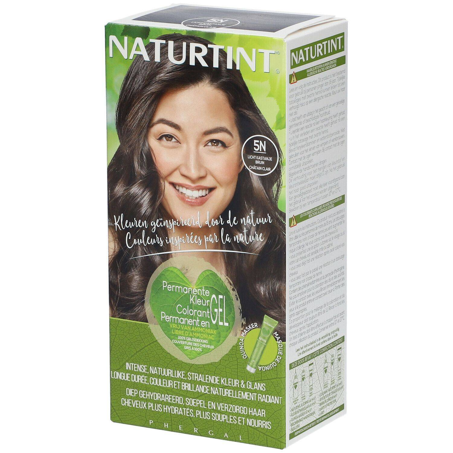 NATURTINT® Coloration Permanente 5N Châtain clair ml emballage(s) combi