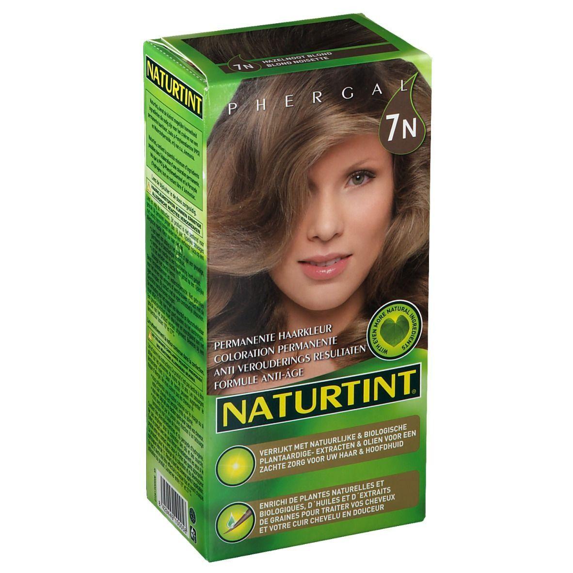 NATURTINT® Coloration Permanente 7N Blond noisette ml emballage(s) combi