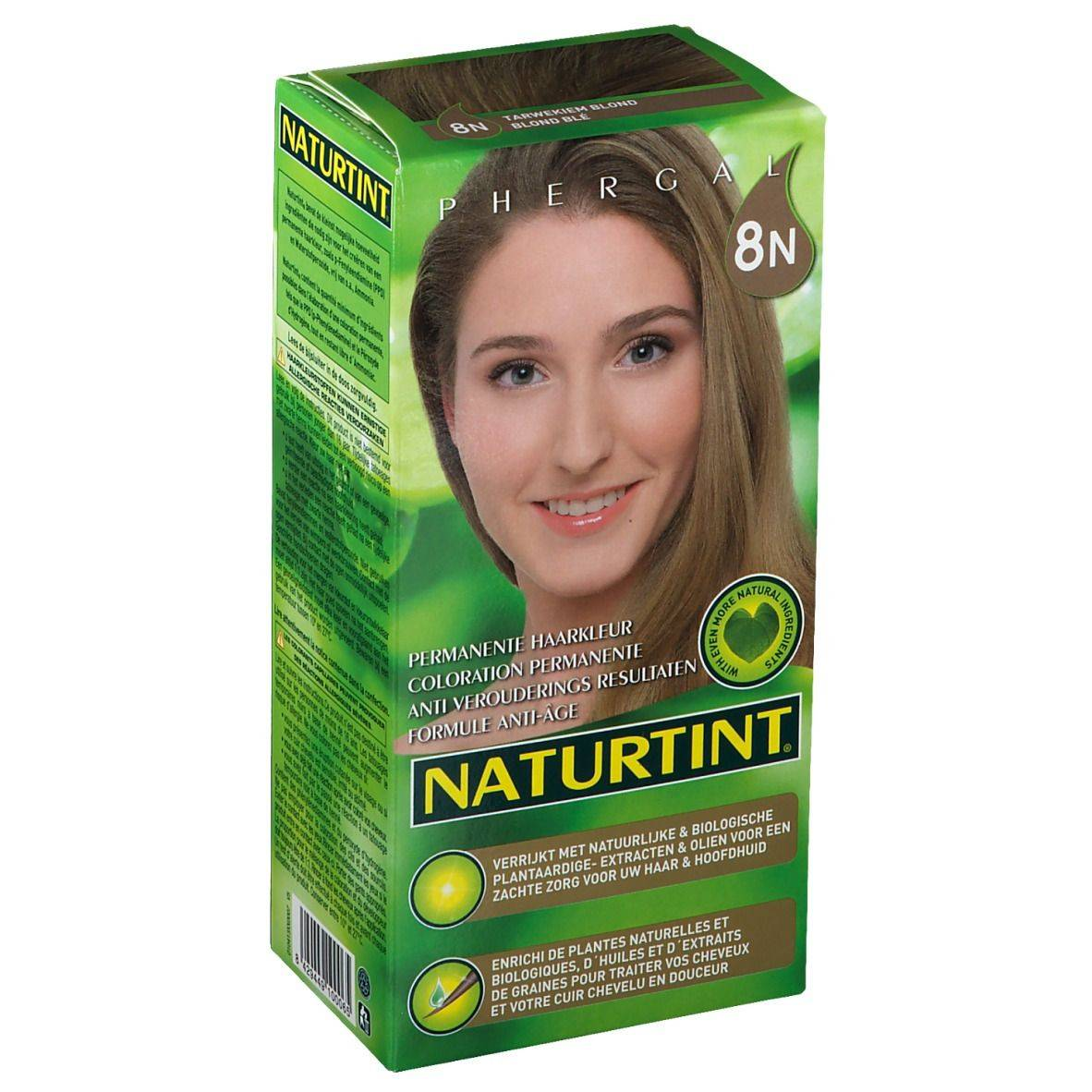 NATURTINT® Coloration Permanente 8N Blond blé ml emballage(s) combi