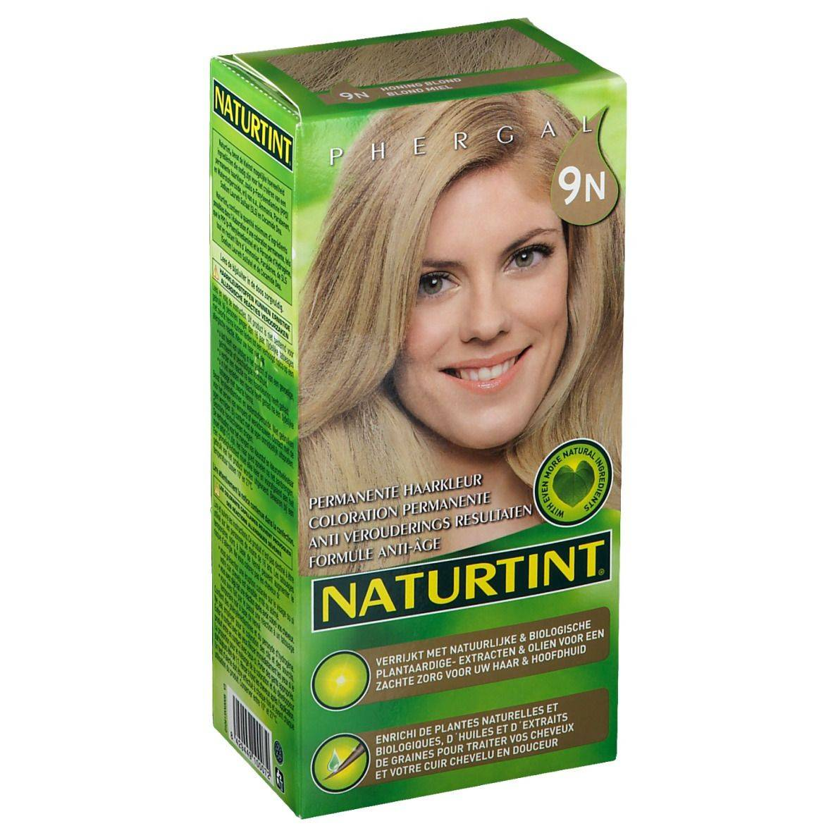 NATURTINT® Coloration Permanente 9N Blond miel ml emballage(s) combi
