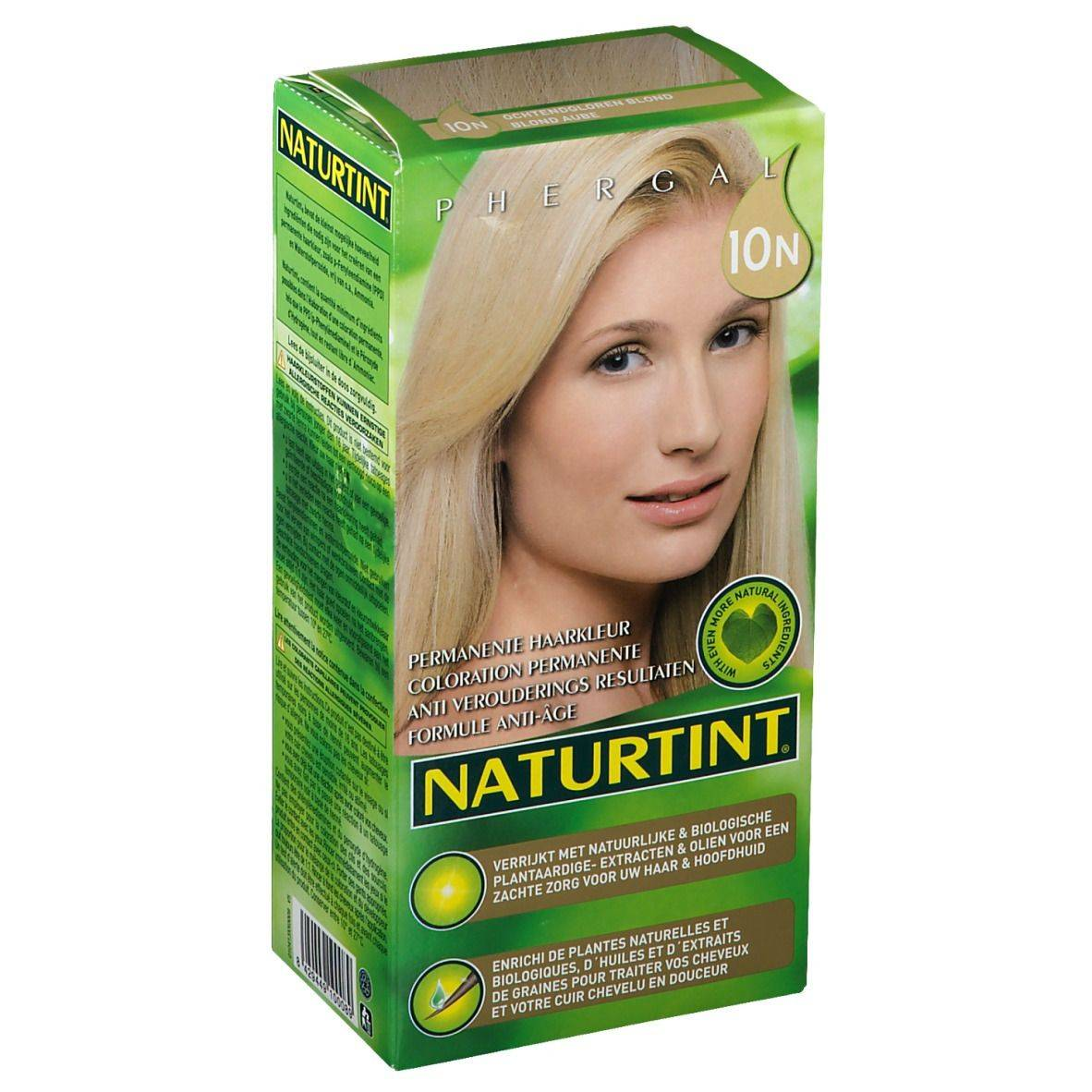 NATURTINT® Coloration Permanente 10N Blond Aube ml emballage(s) combi