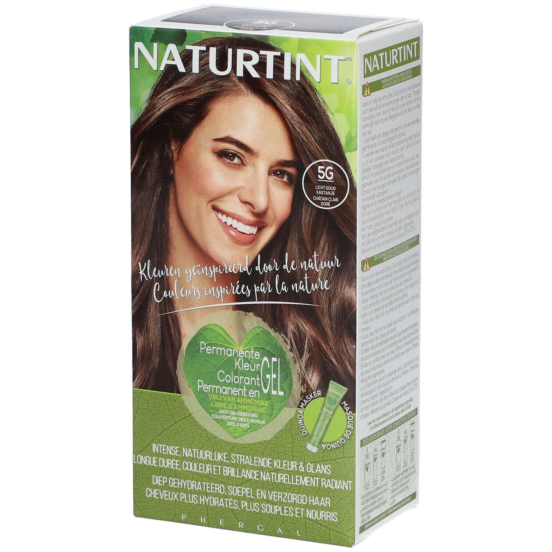 NATURTINT® Coloration Permanente 5G Châtain doré clair ml emballage(s) combi