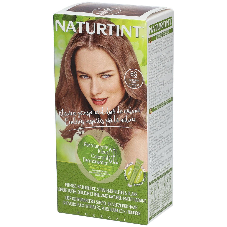 NATURTINT® Coloration Permanente 6G Blond foncé doré ml fluide