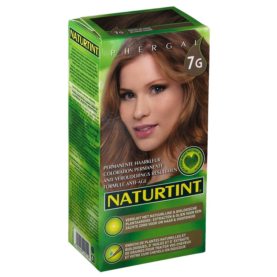 NATURTINT® Coloration Permanente 7G Blond doré ml fluide