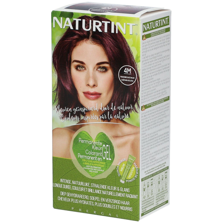 NATURTINT® Coloration Permanente 4M Châtain acajou ml emballage(s) combi