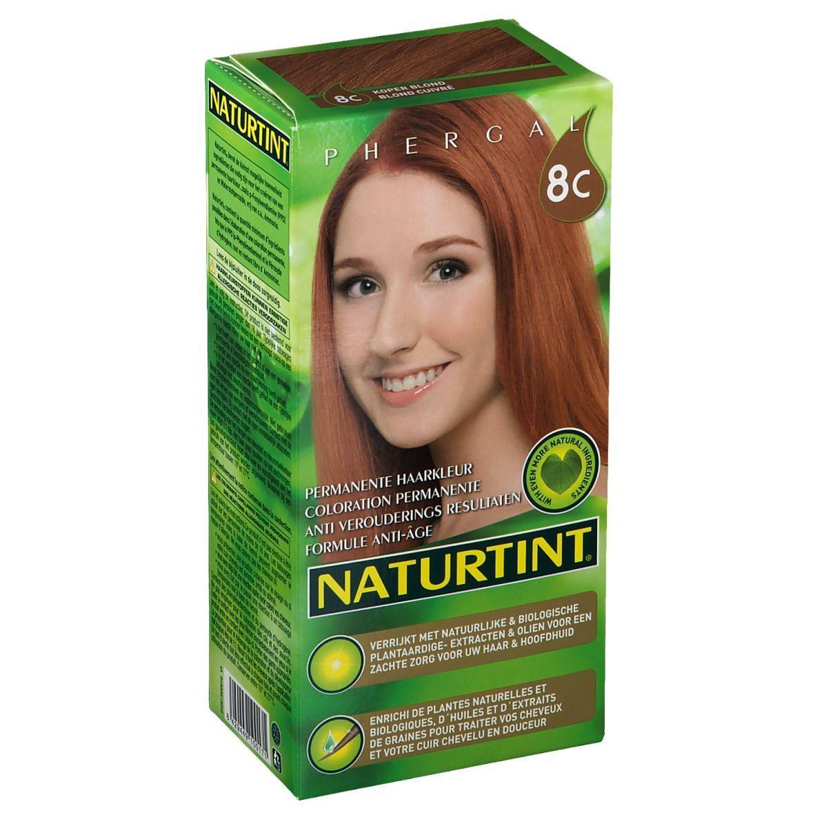 NATURTINT® Coloration Permanente 8C Blond cuivré ml emballage(s) combi