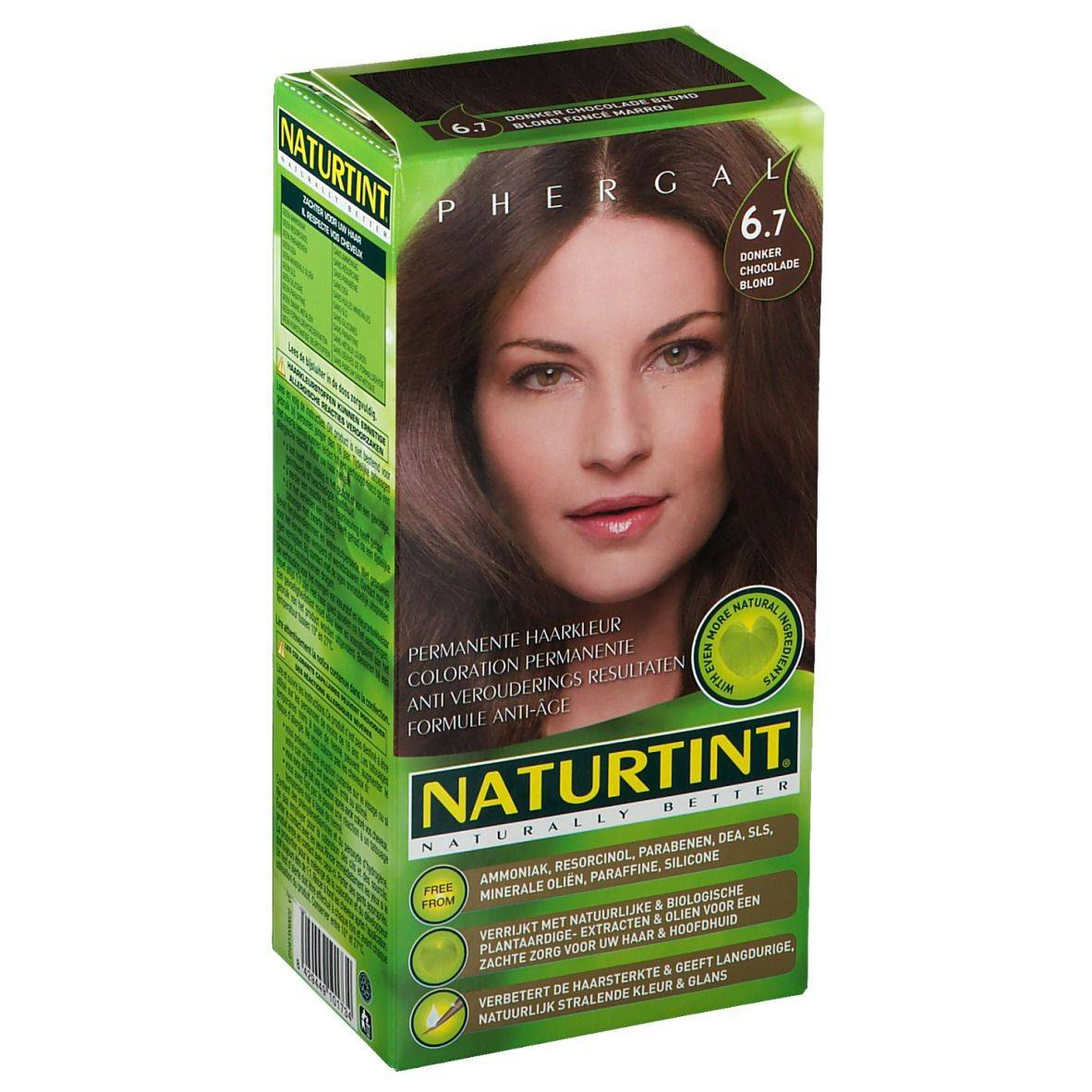 NATURTINT® Coloration Permanente 6.7 Chocolat Clair ml emballage(s) combi