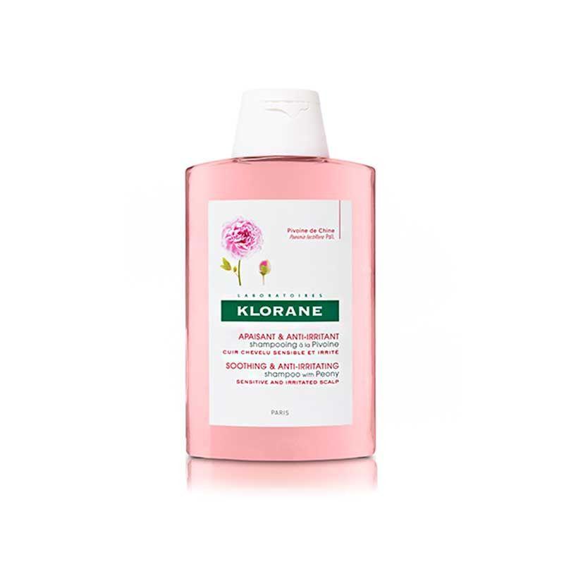 Klorane shampoing apaisant à la pivoine de Chine ml shampooing