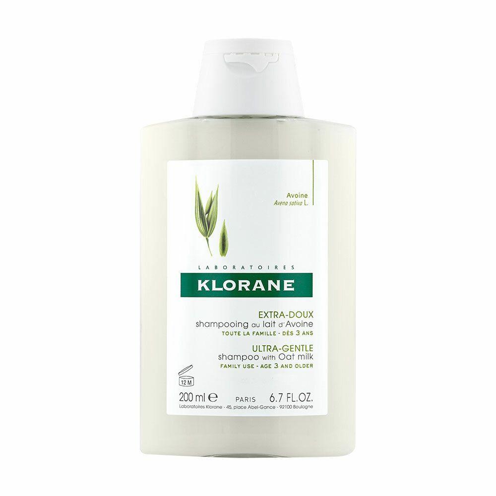 Klorane shampoing extra-doux au lait d'avoine ml shampooing