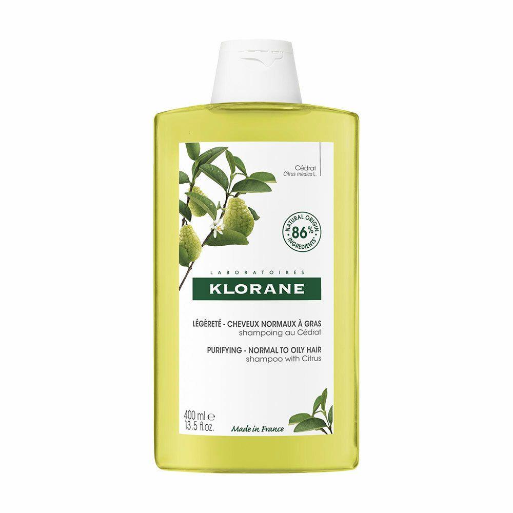 Klorane shampoing à la pulpe de cédrat ml shampooing