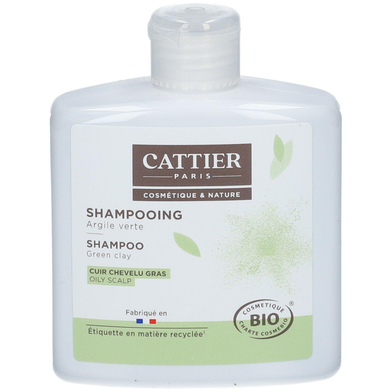Cattier shampoing argile verte bio cuir chevelu gras ml shampooing