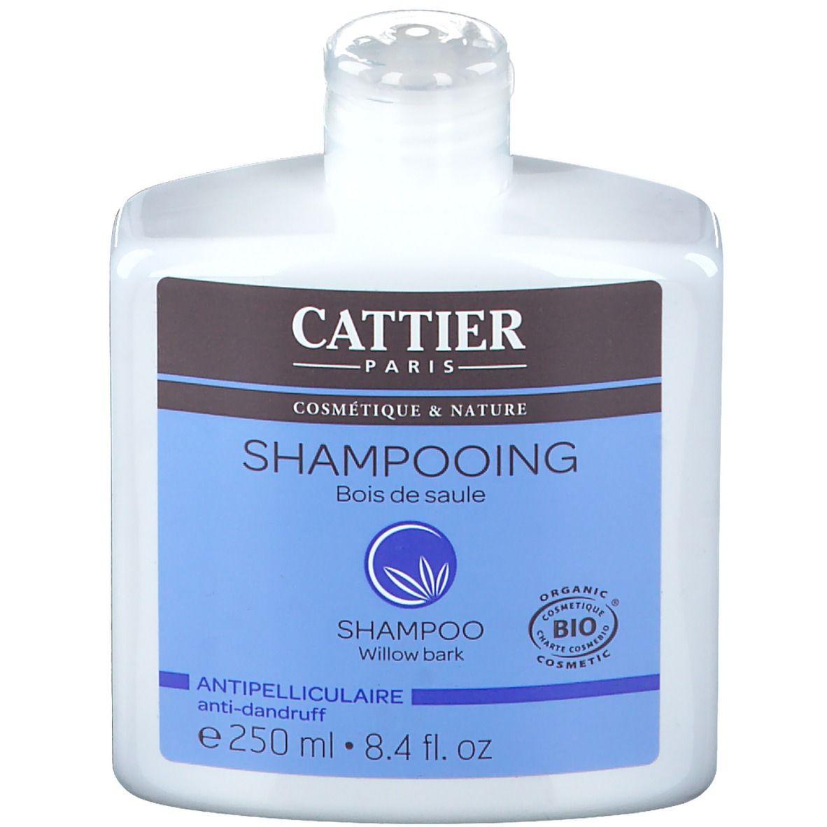 Cattier Shampoing bois de saule bio antipelliculaire ml shampooing
