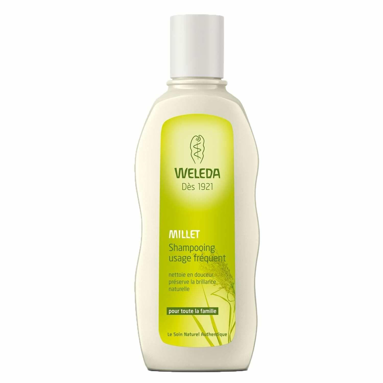 Weleda Millet shampoing bio usage fréquent ml shampooing