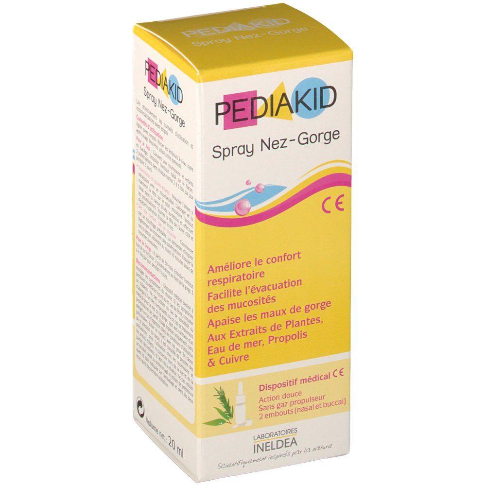 Pediakid Spray Nez - Gorge ml spray