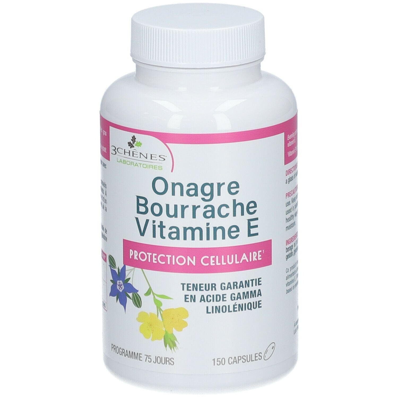 3Chênes® 3 Chênes® Onagre Bourrache Vitamine E pc(s) capsule(s) douce(s)