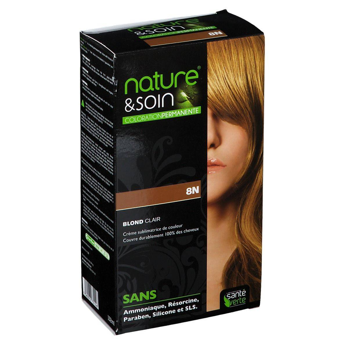 nature & soin® Coloration Blond clair 8N pc(s) set(s)
