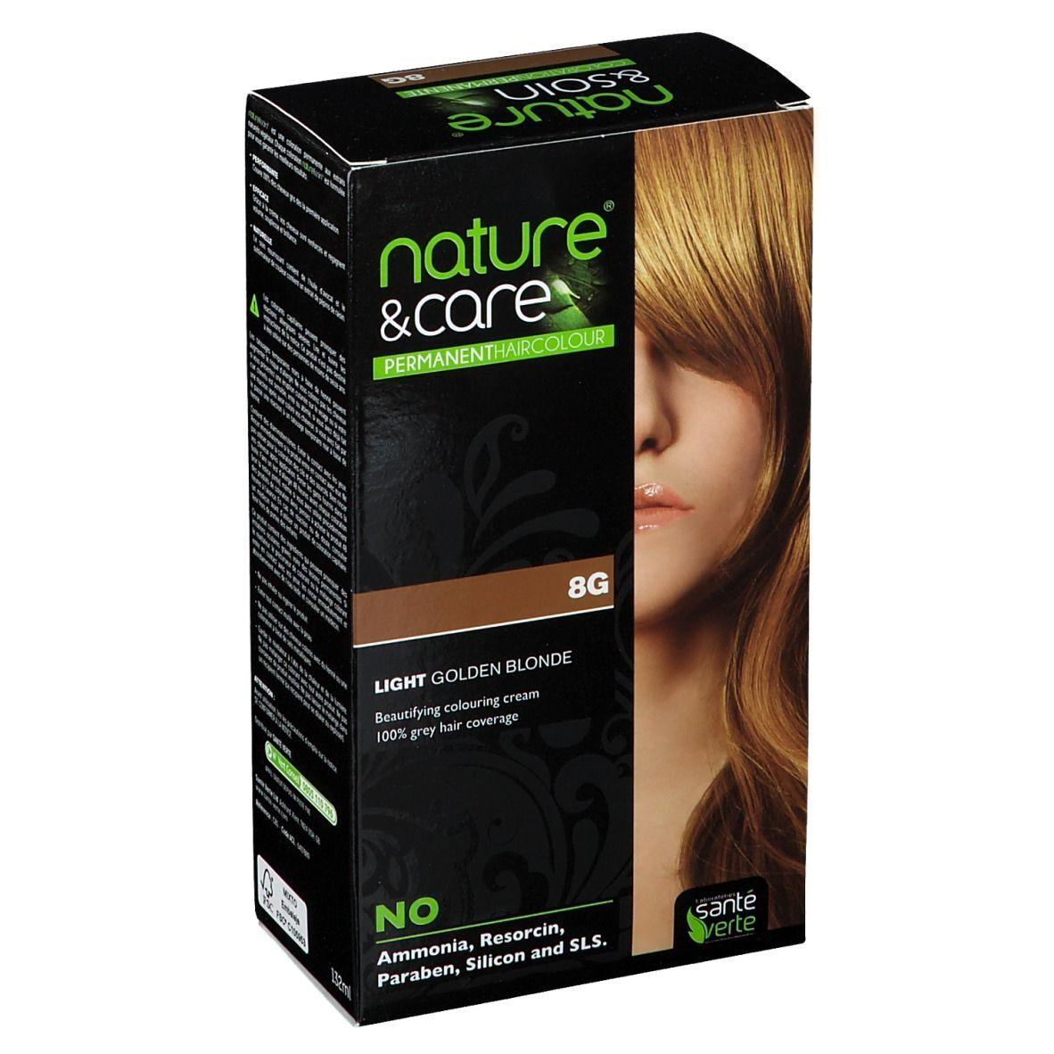 nature & soin® Coloration Blond clair doré 8G pc(s) set(s)