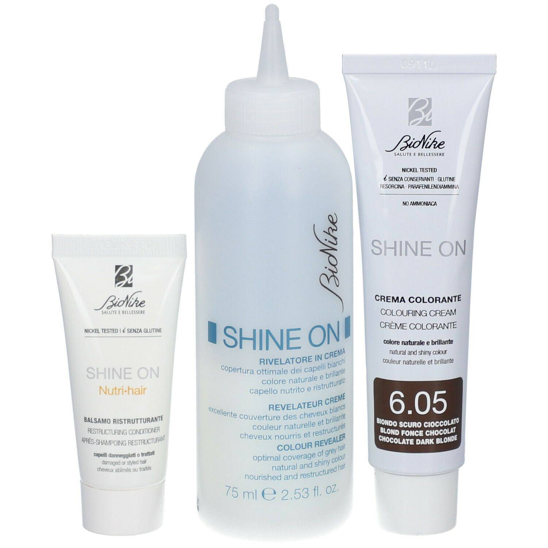 BioNike SHINE ON Soin colorant capillaire 6.05 Blond foncé chocolat ml lotion(s)
