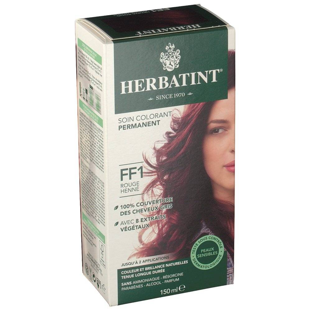 Phytal-Crea HERBATINT® Gel Colorant Permanent FF1 Rouge Henné ml solution(s)