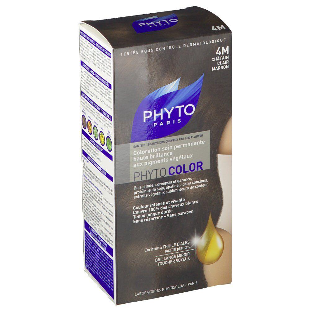 Phytocolor Coloration Chatain clair marron 4M pc(s) crème