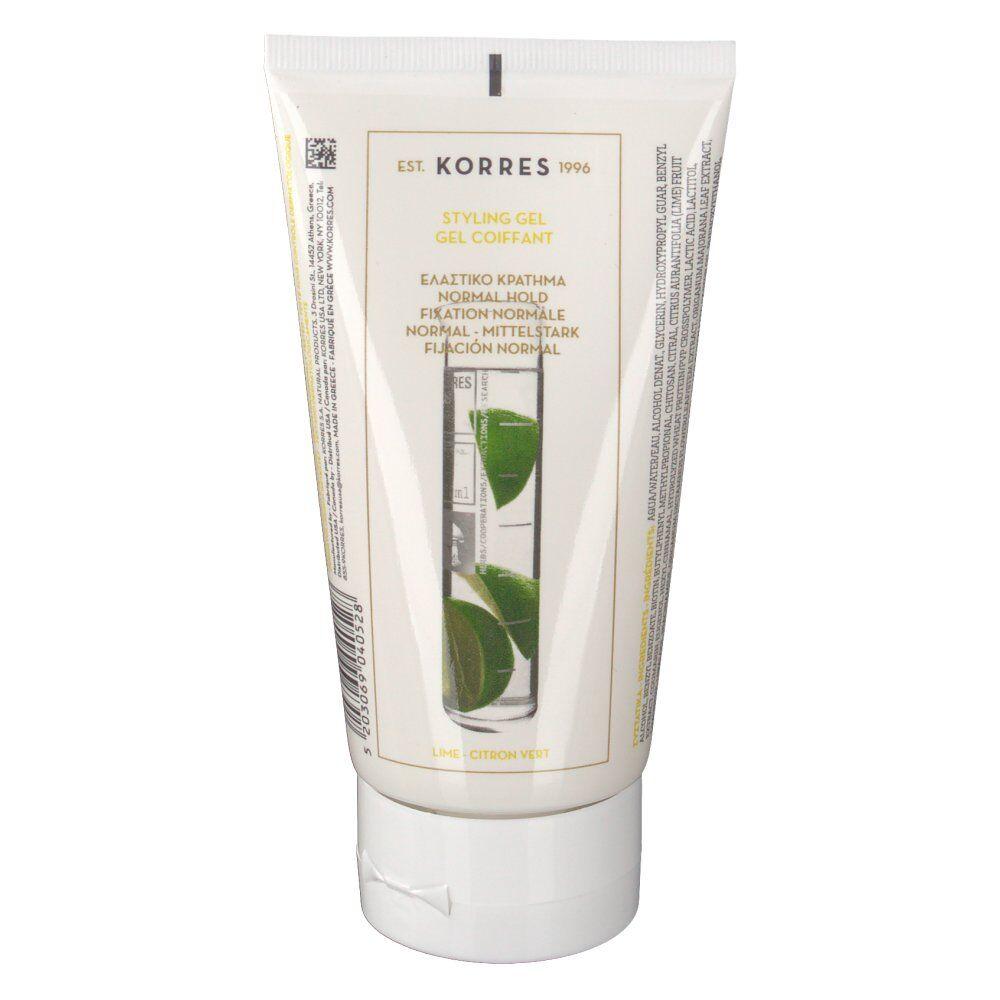 Greendock KORRES® Citron vert Gel coiffant ml gel(s)