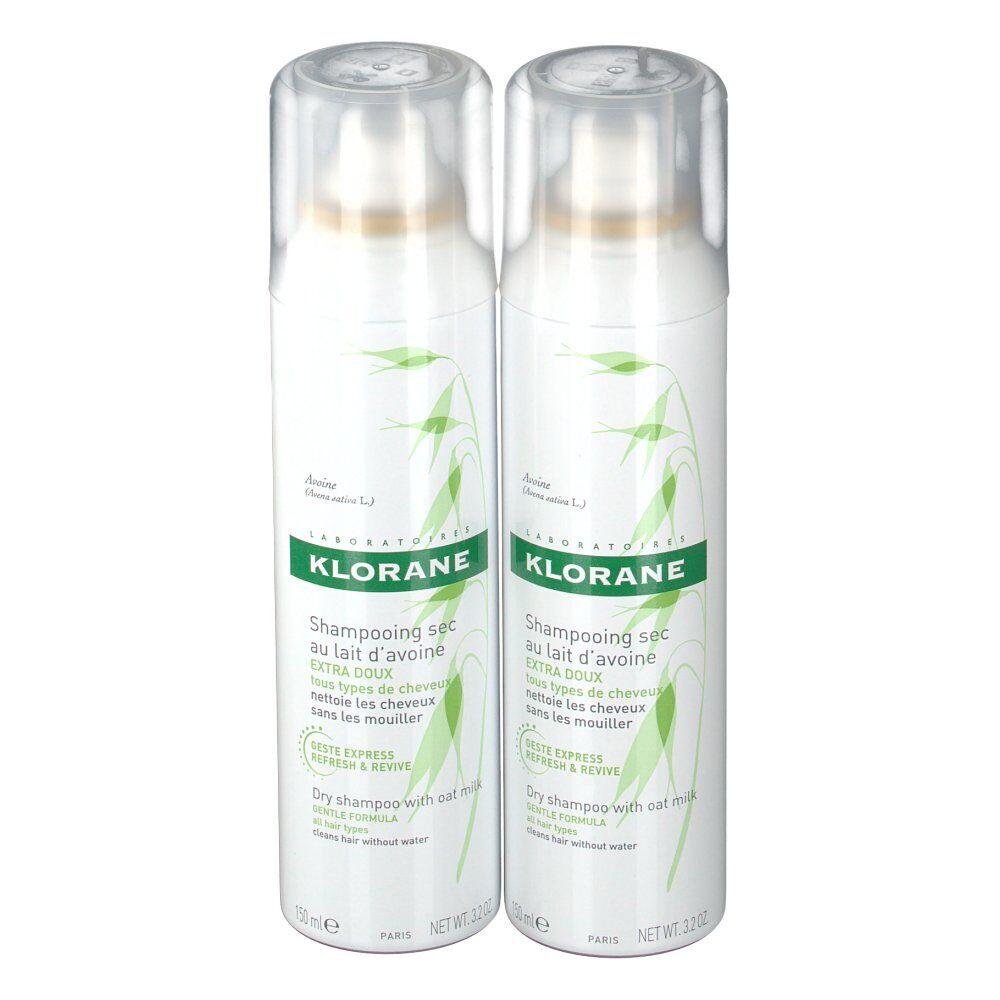 Klorane shampoing sec extra-doux au lait d'avoine ml spray