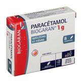 Biogaran® Paracétamol Biogaran® 1 g 8 pc(s) 3400936381865