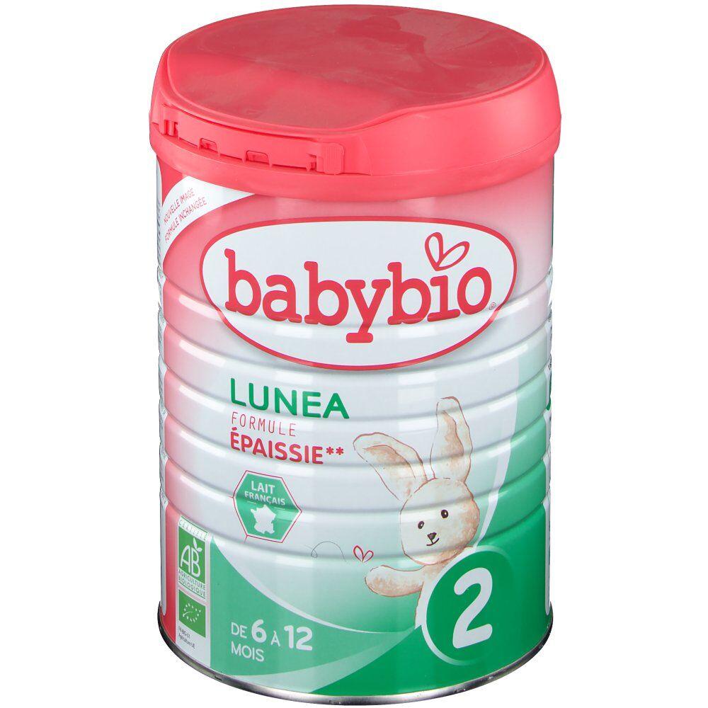Babybio Lunéa lait bio 2ème âge g poudre