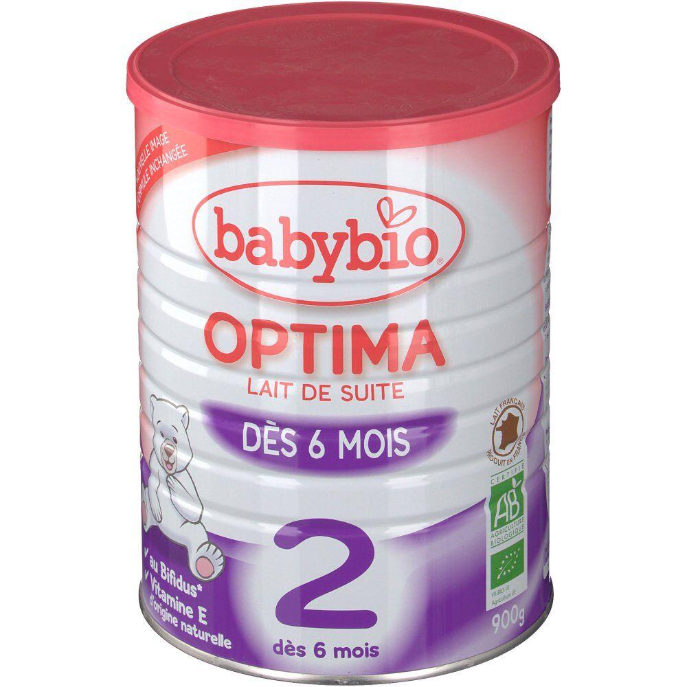 Babybio Optima lait bio 2ème âge g poudre