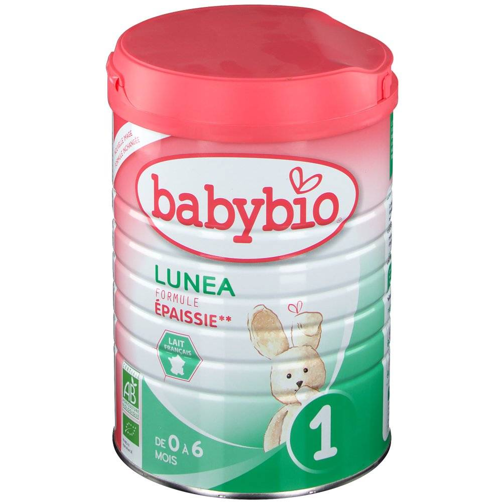 Babybio Lunéa lait bio 1er âge g poudre