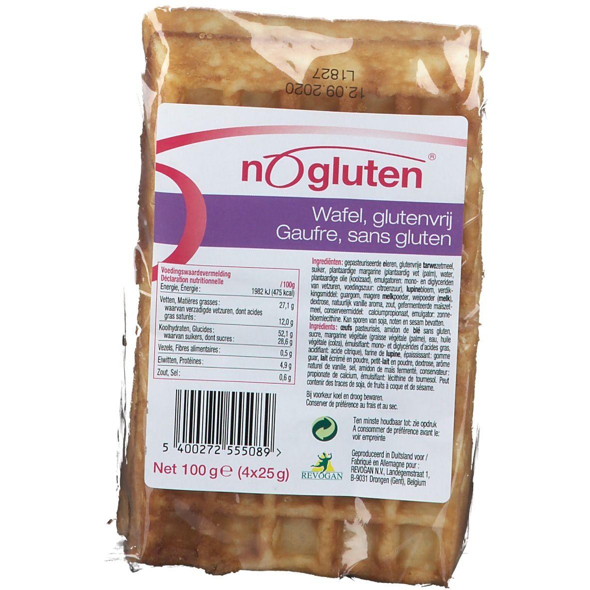 NoGluten Gaufre Soft Sans Gluten g Cookies