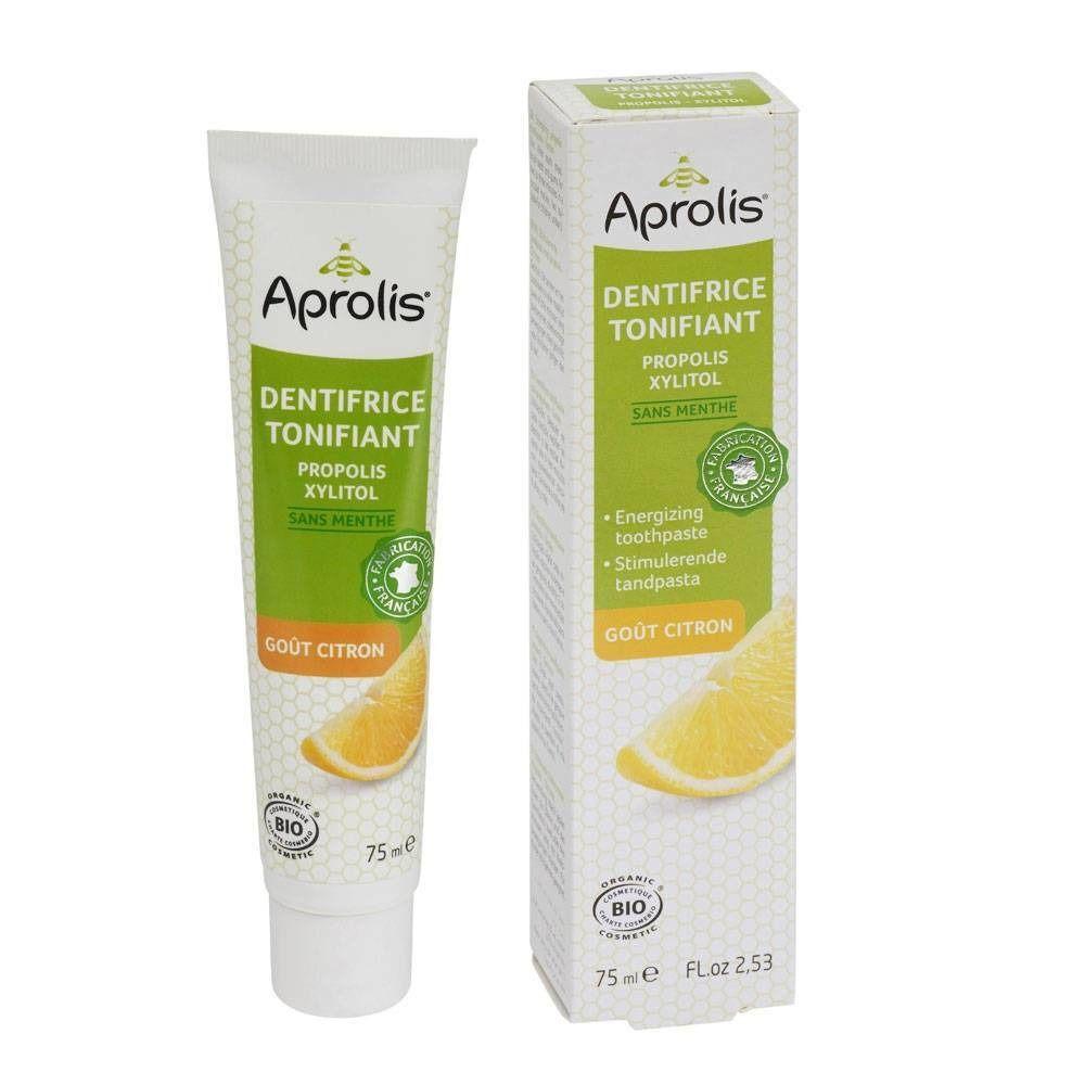 Aprolis® Dentifrice tonifiant goût citron Bio ml dentifrice(s)