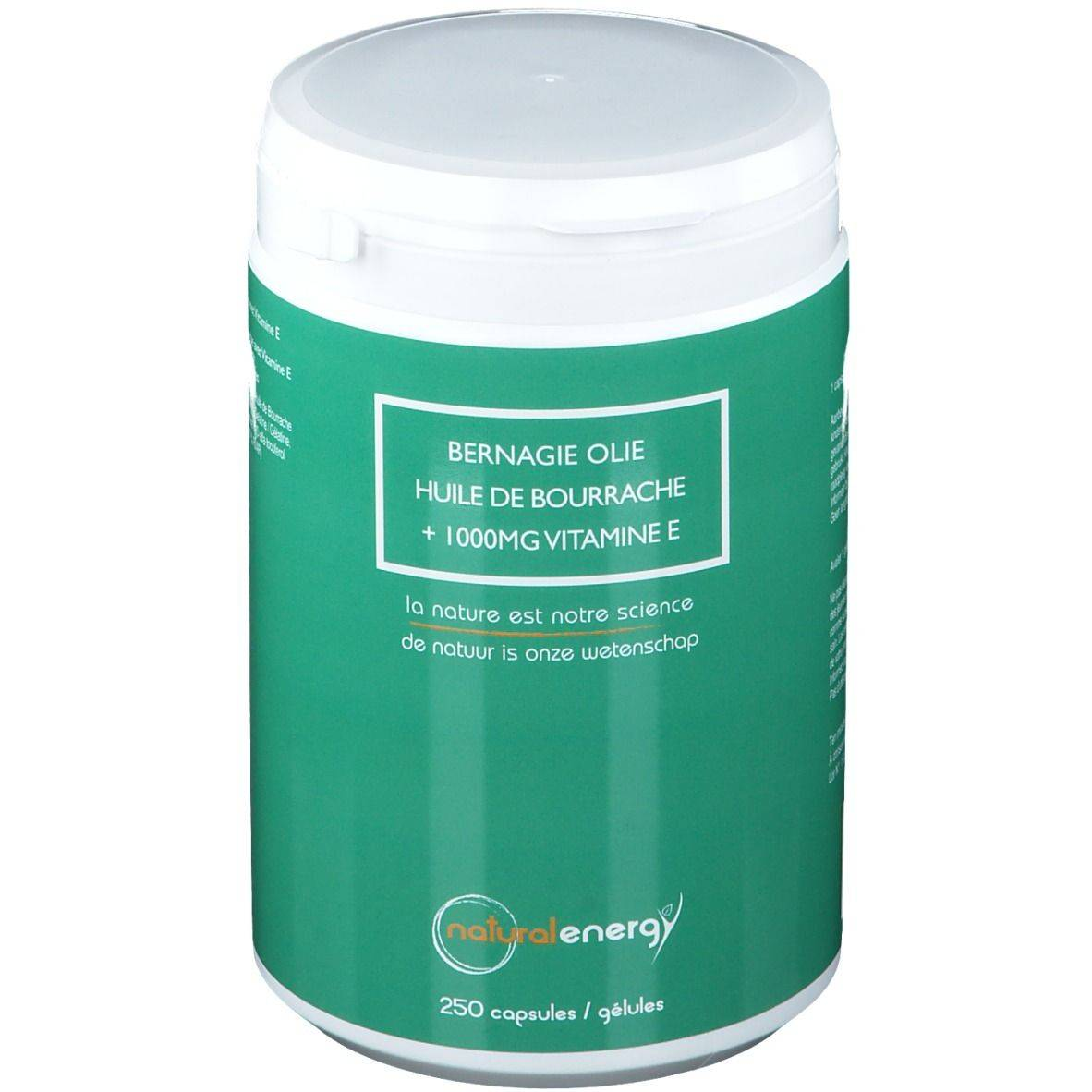 Natural Energy Huile de Bourrache pc(s) capsule(s)