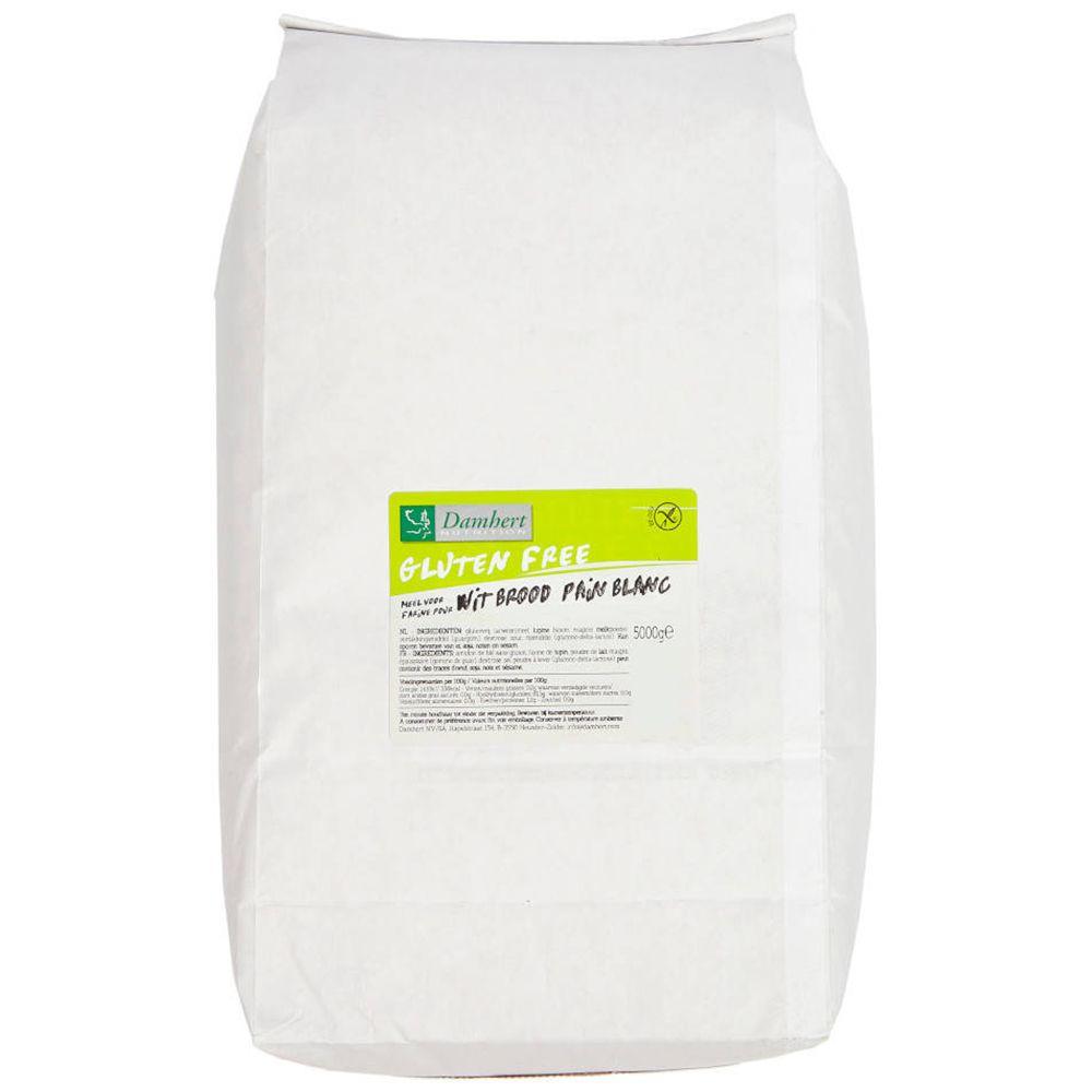 Damhert Mélange Pour Pain Blanc Sans Gluten kg poudre