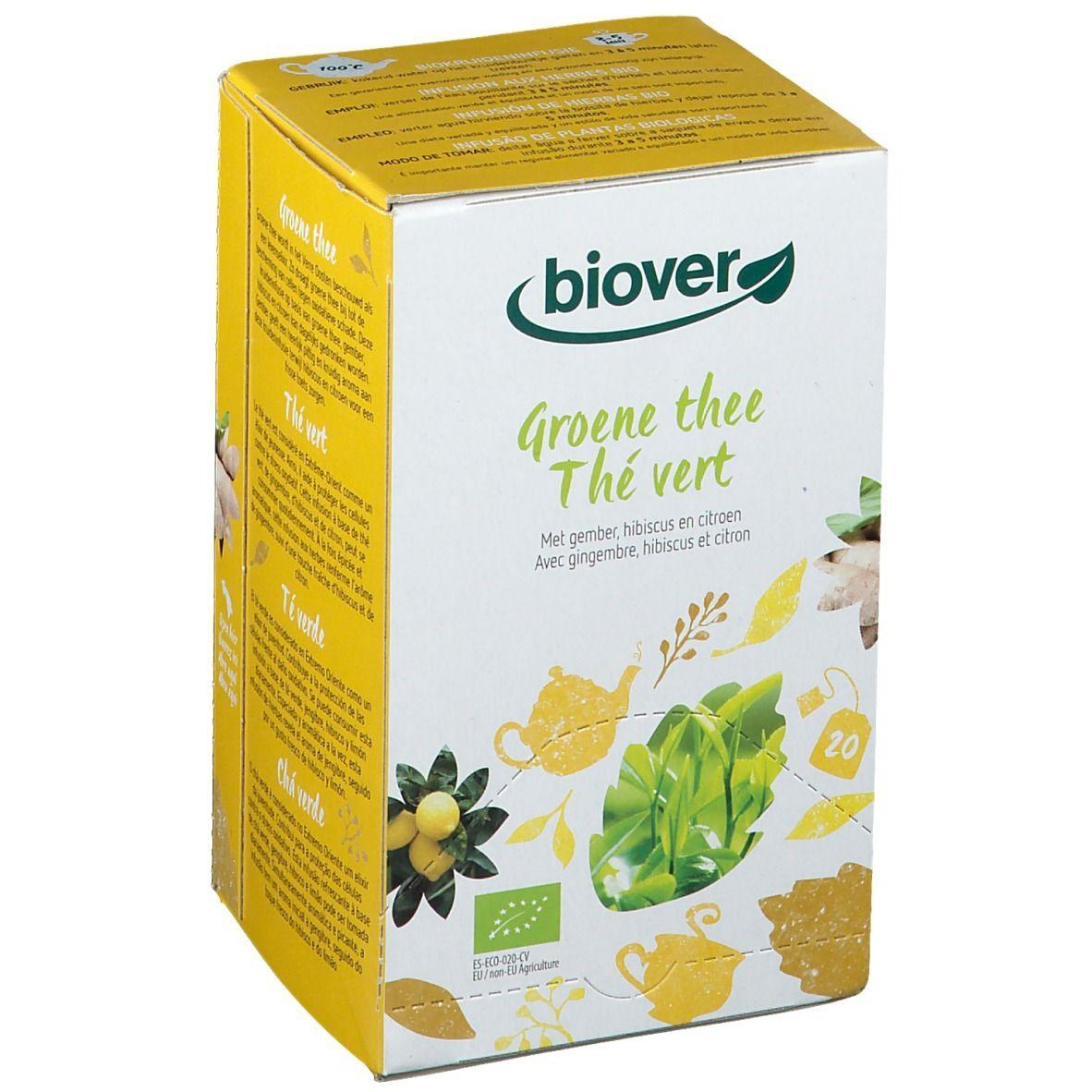 biover Thé vert pc(s) thé instantané