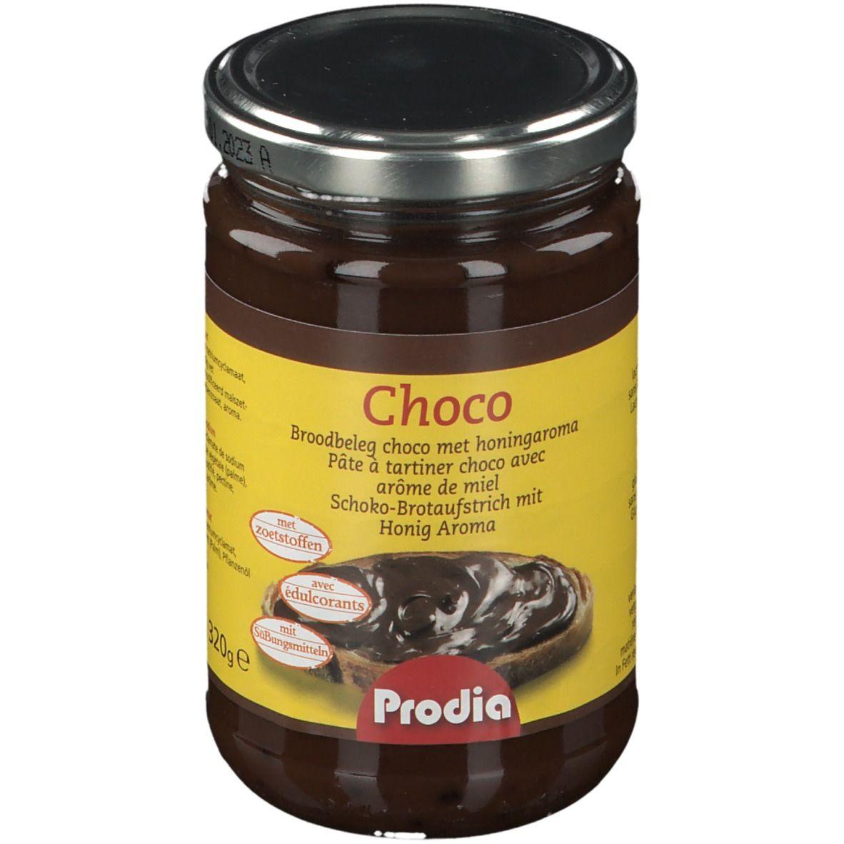 Prodia Pâte à tartiner - Choco avec arôme miel g crème