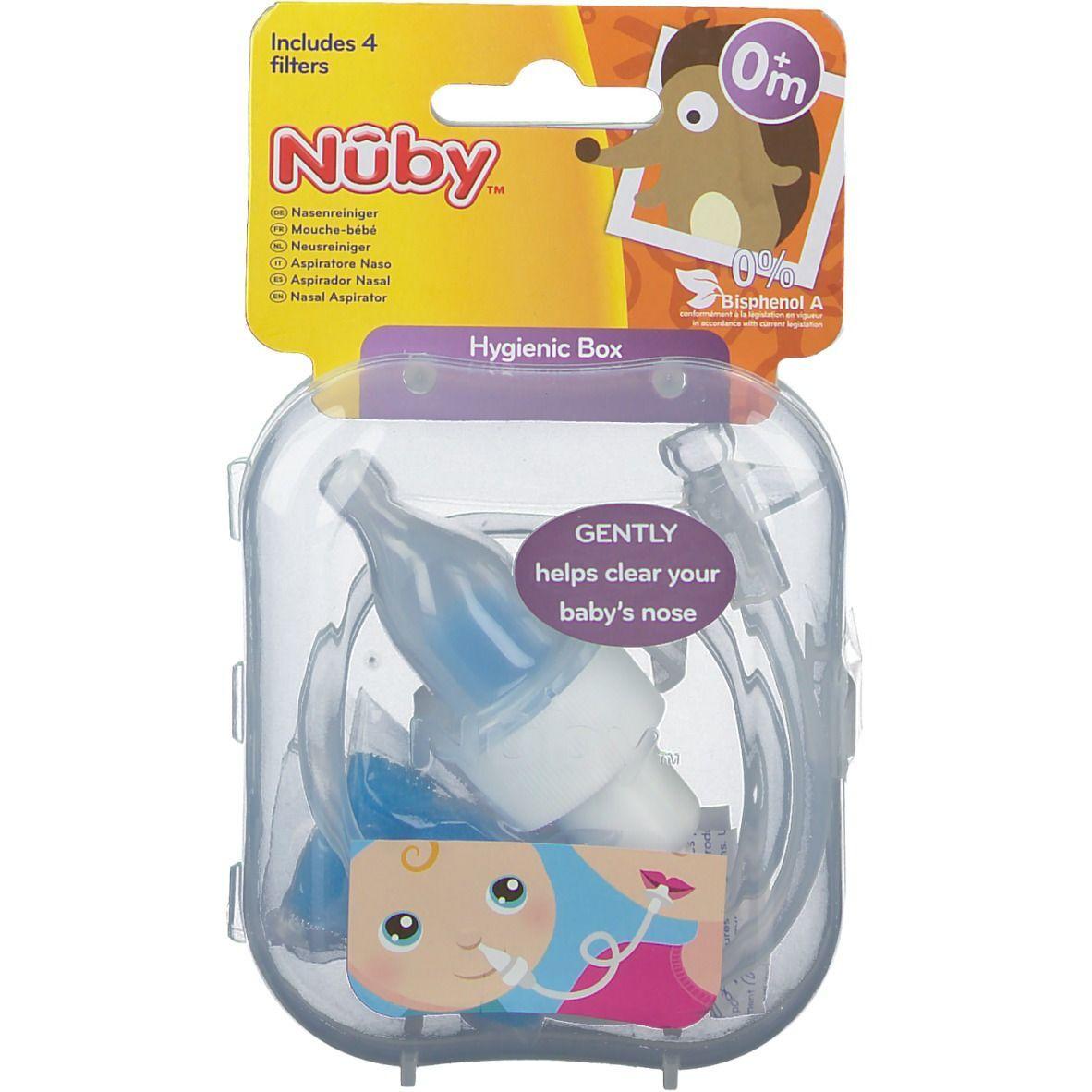 Nûby Nuby Mouche-bébé pc(s) tétine(s)