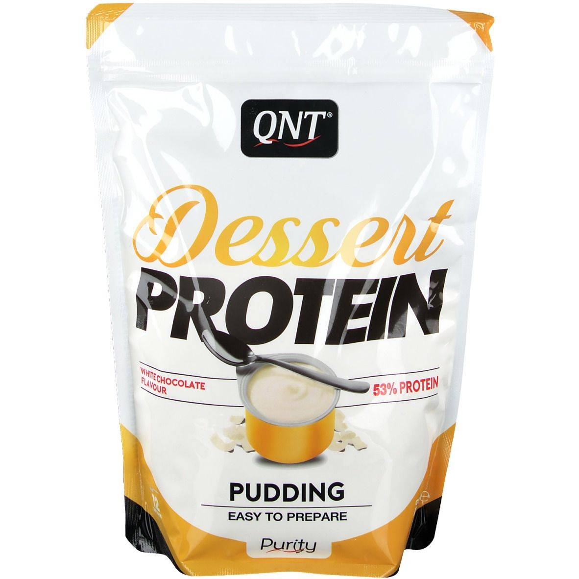 QNT Dessert Protein Chocolat Blanc g poudre