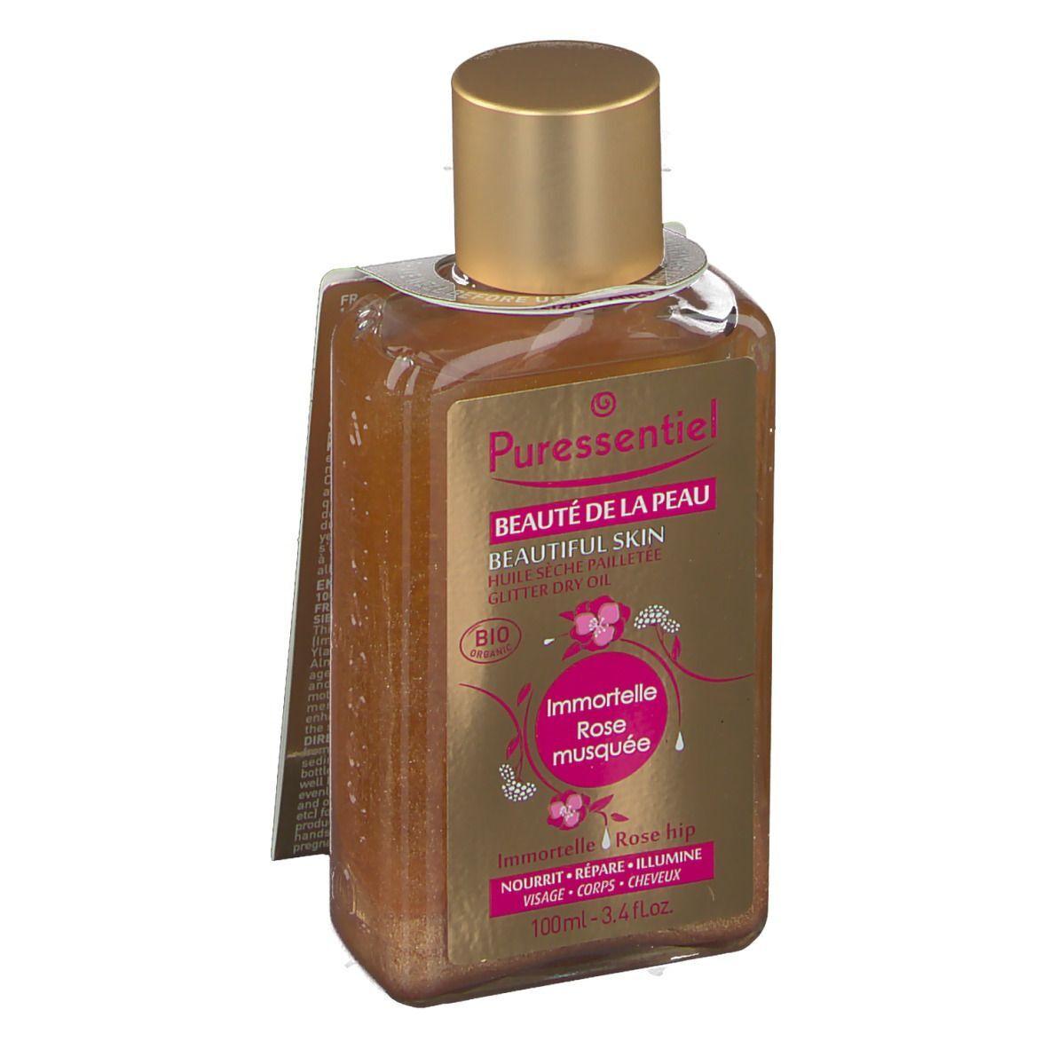 Puressentiel Beauté de la Peau Huile Sèche Pailletée Bio ml huile pour la peau