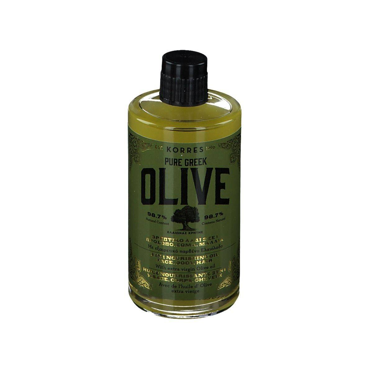 Korres® KORRES Pure Greek OLIVE Huile nourrissante 3 en 1 ml huile