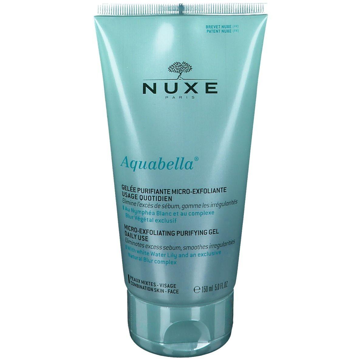 Nuxe Aquabella Gelée Purifiante Micro-exfoliante usage quotidien ml gel(s)