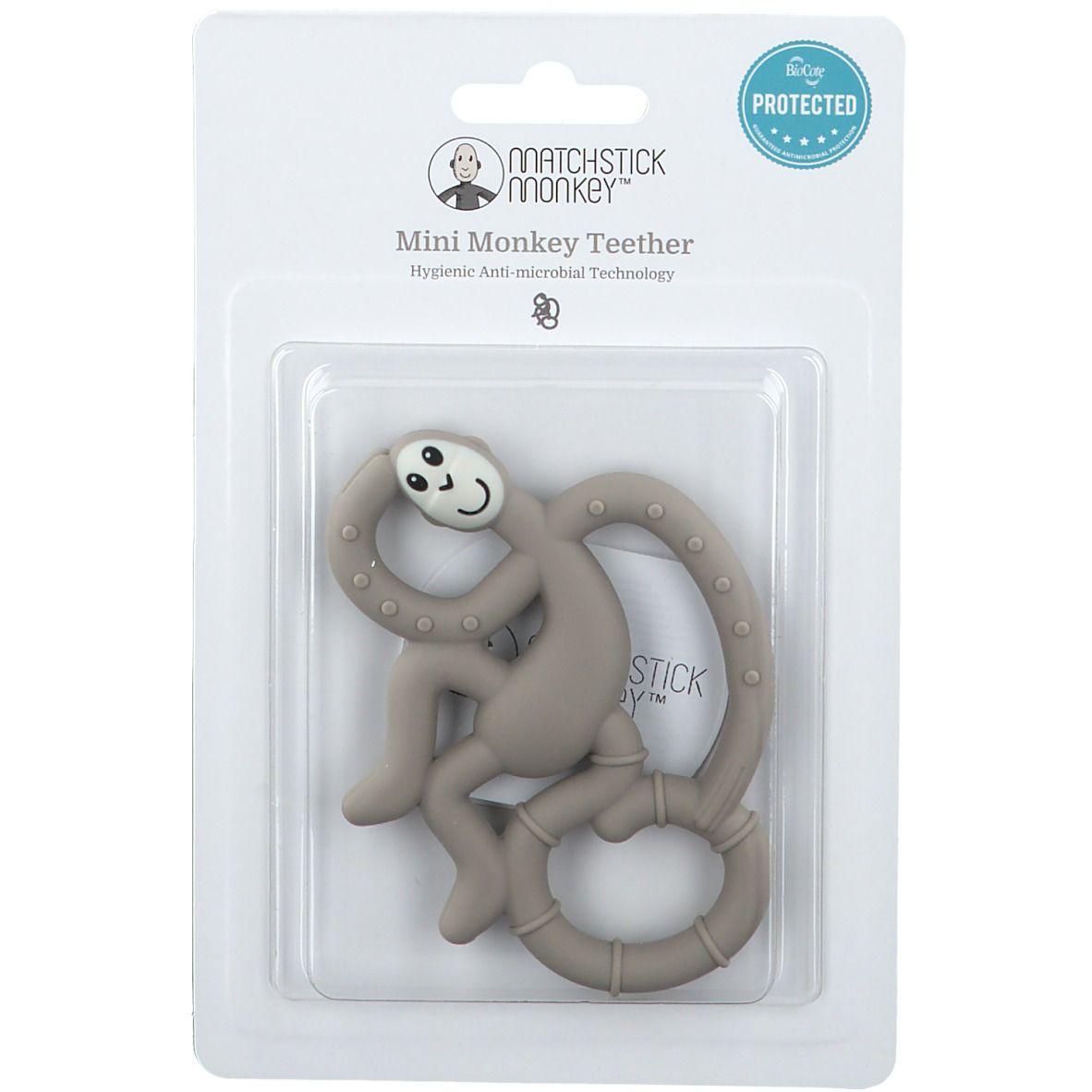 Avent Matchstick Monkey Mini Jouet de dentition Gris pc(s) anneau(x) de dentition