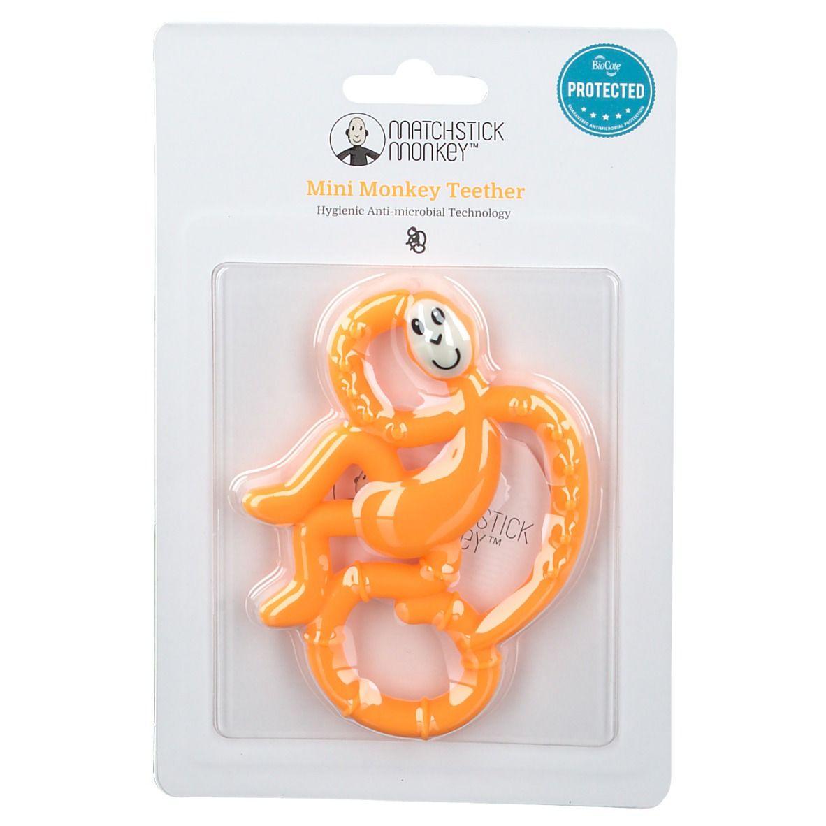 Avent Matchstick Monkey Mini Jouet de dentition Orange pc(s) anneau(x) de dentition