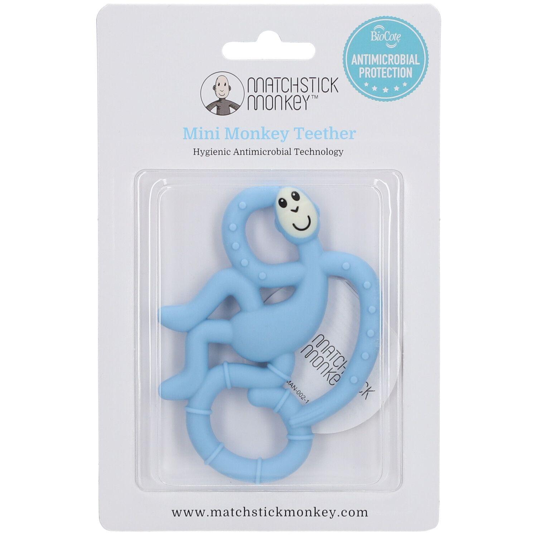 Avent Matchstick Monkey Mini Jouet de dentition Bleu clair pc(s) anneau(x) de dentition