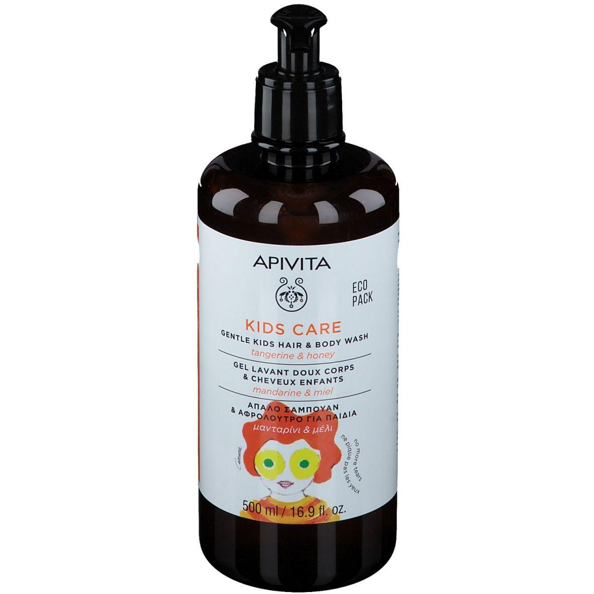 Apivita Kids Care Gel Lavant Doux Cheveux & Corps - Mandarine & Miel ml gel nettoyant