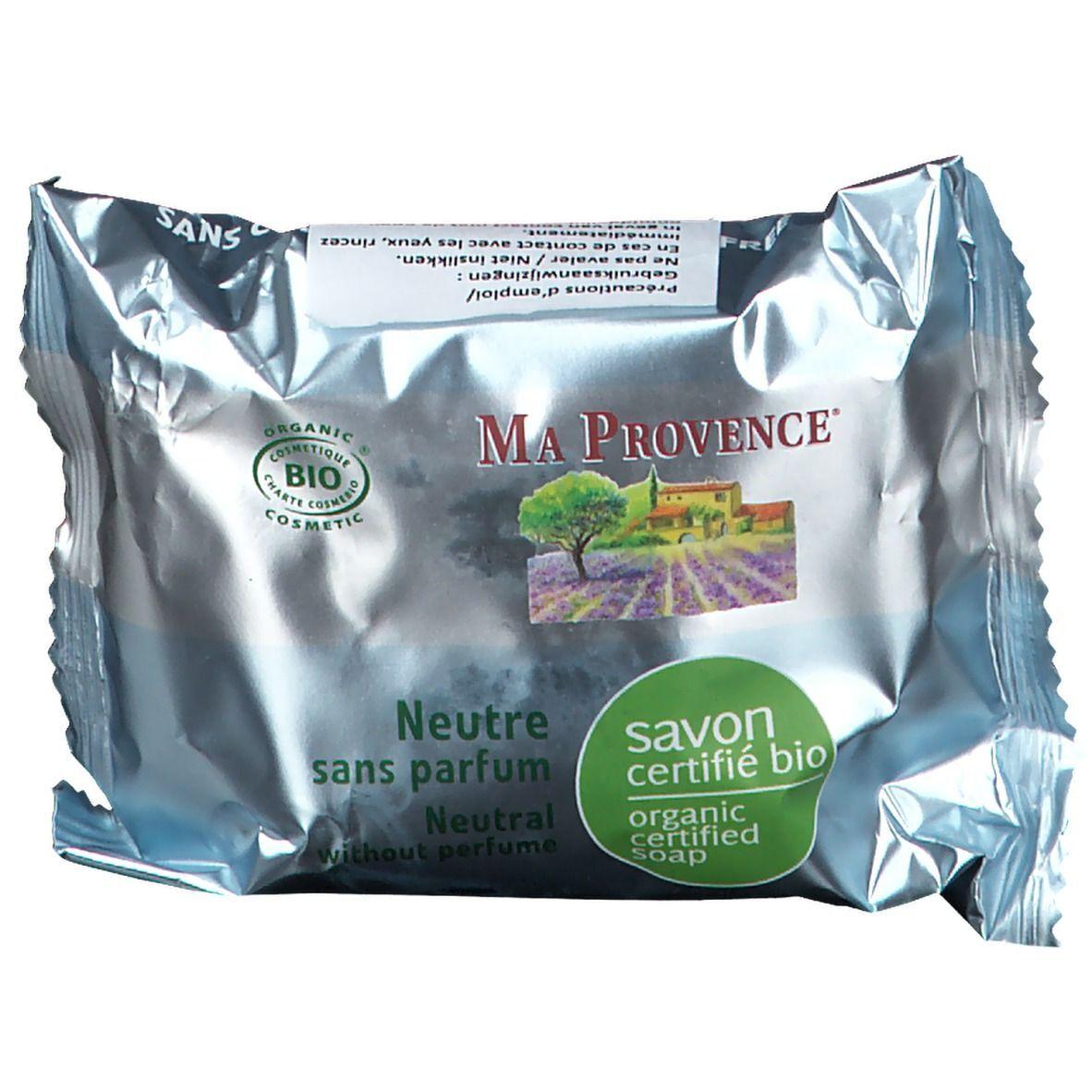 Ma Provence® Ma Provence Savon bio Neutre sans parfum g savon